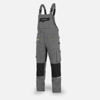 Work trousers with laclem