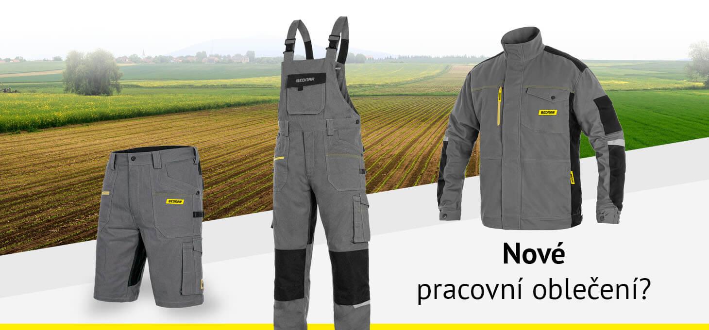 Nové pracovní oblečení